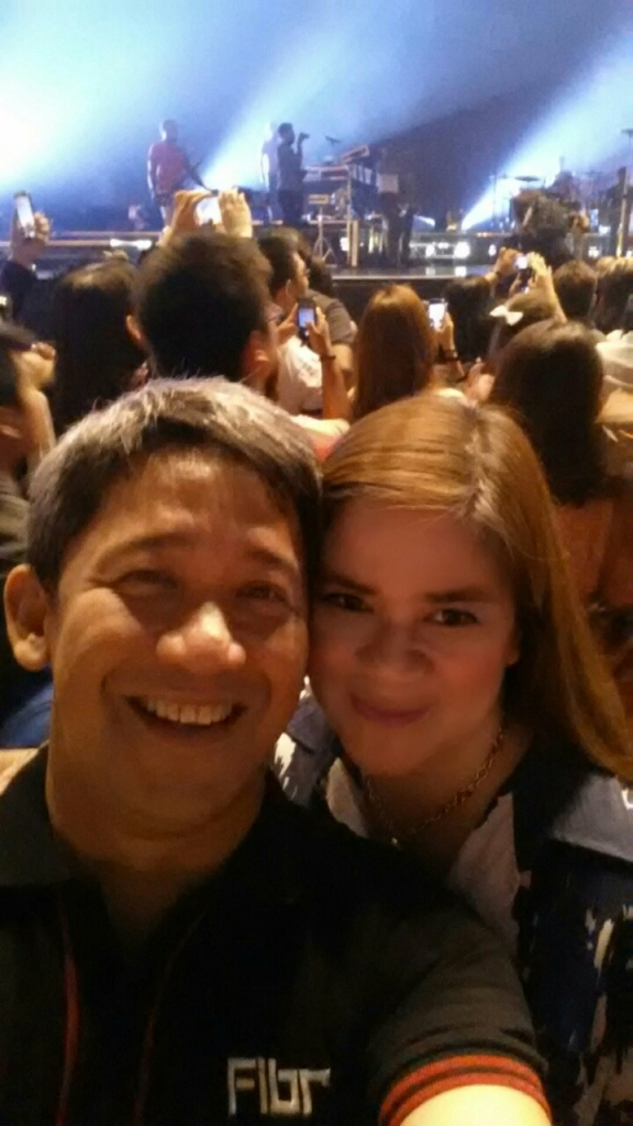 With Ariel at the Concert
