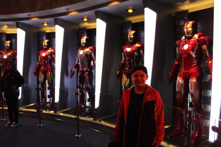 M with the Ironman suits of steel