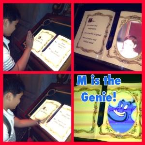 M is Genie