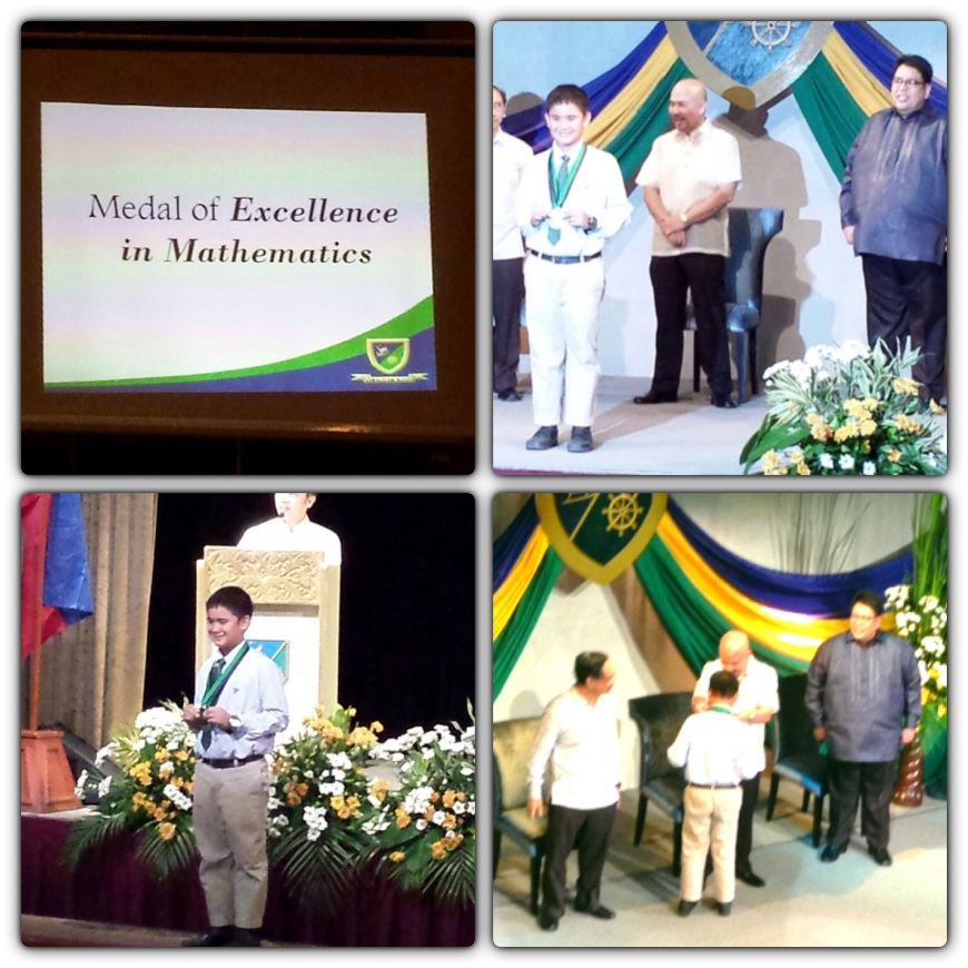 Medal of Excellence in Mathematics