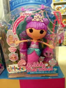 One Lalaloopsy Mermaid for my princess , please!