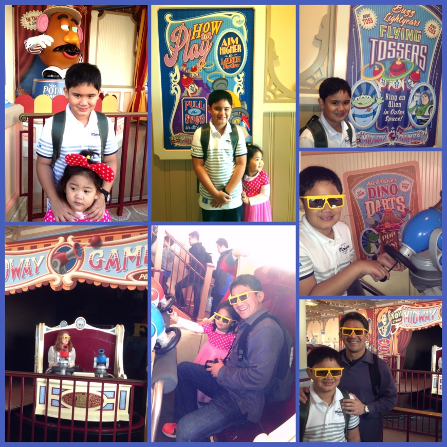 MIDWAY MANIA COLLAGE